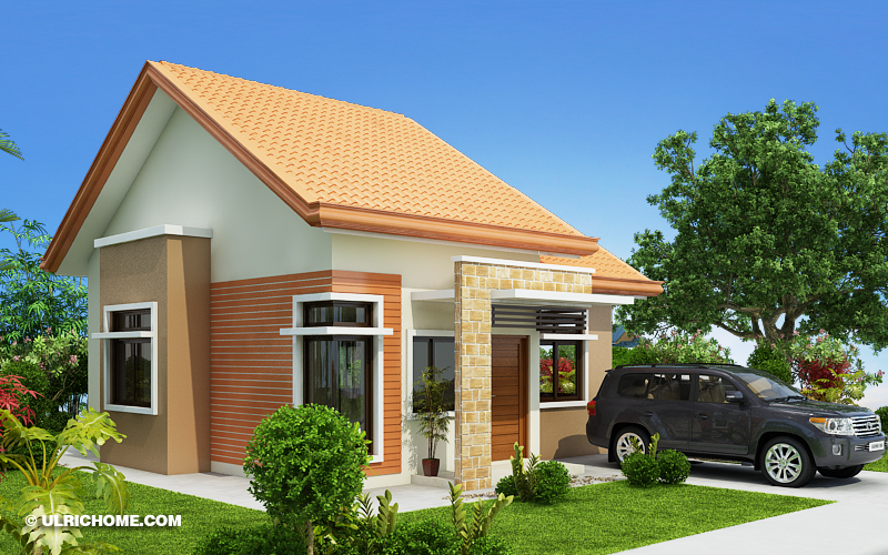 Small Contemporary House Design For A Small Family - Ulric Home on family small space, family small home, family small kitchen design, family bathroom design,