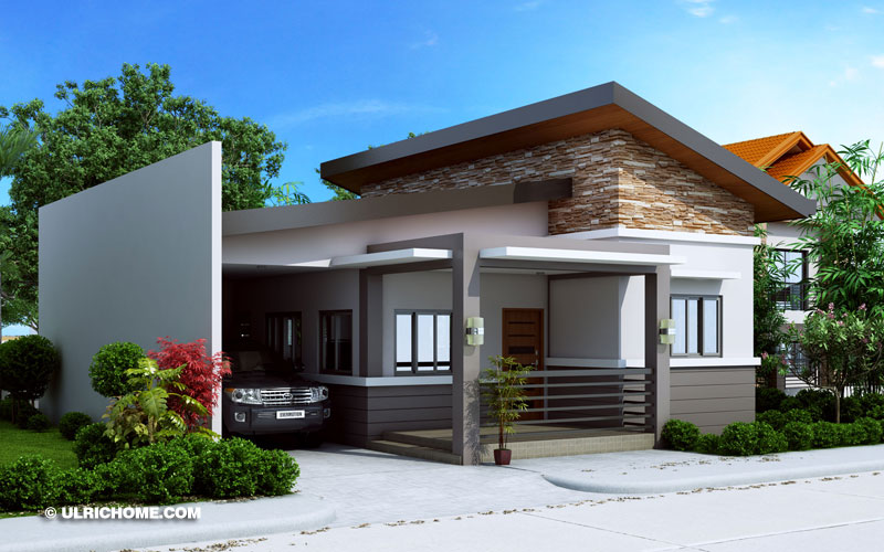 Ulric Home & Modern Three Bedroom Small House Design - Ulric Home