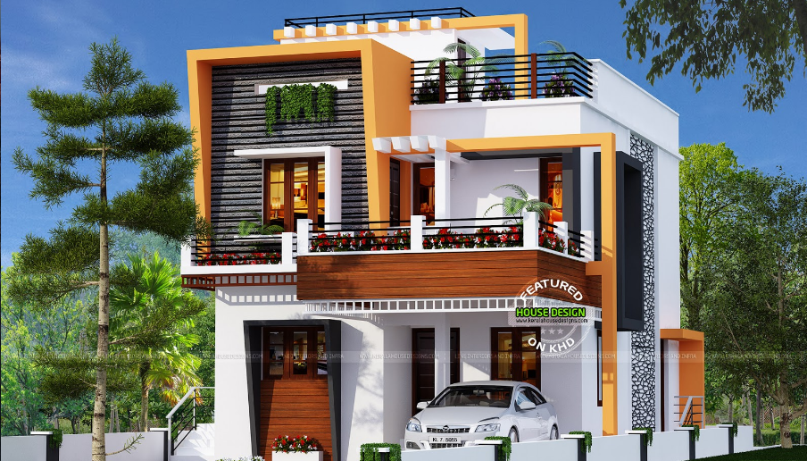 Simple And Elegant Small House Design With 3 Bedrooms And 2