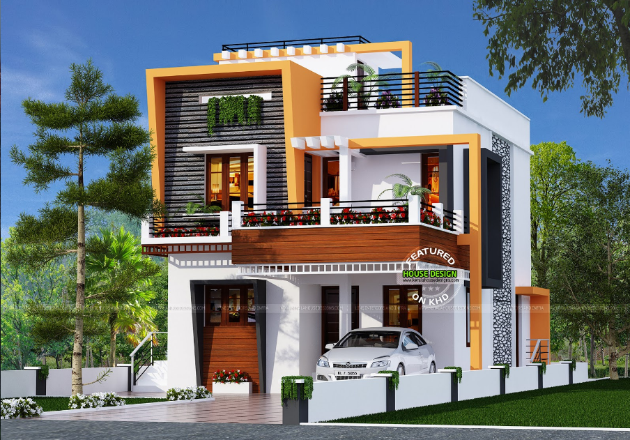 Sophisticated And Minimalist House With An Option For Roof Deck Or Additional Bedroom