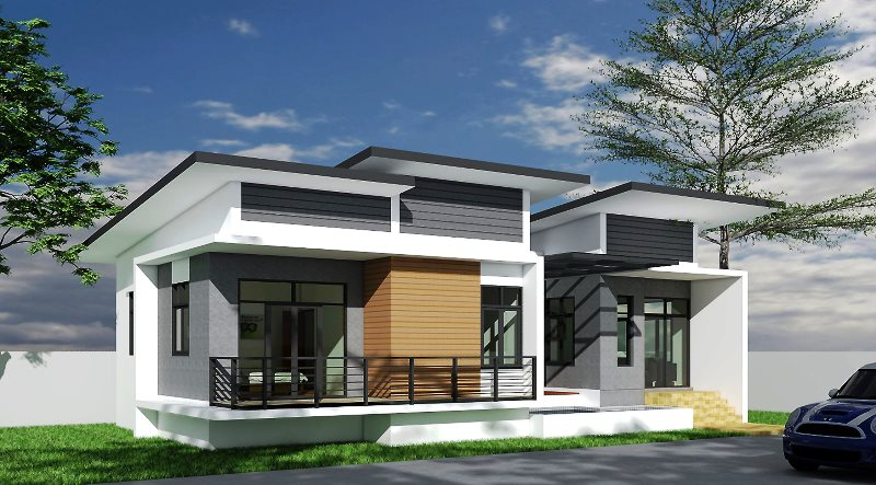 One Storey Concept Home