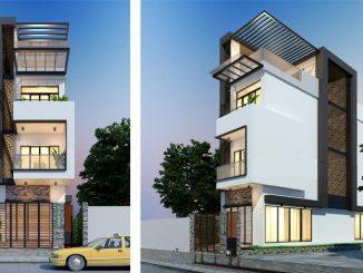 Three-Storey Narrow Lot House Concept