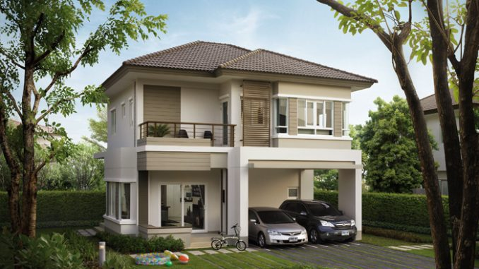 Small Two Story House Plans With Balcony - Image Balcony ...