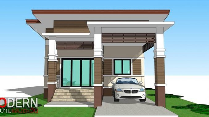 One-storey Elevated House Concept