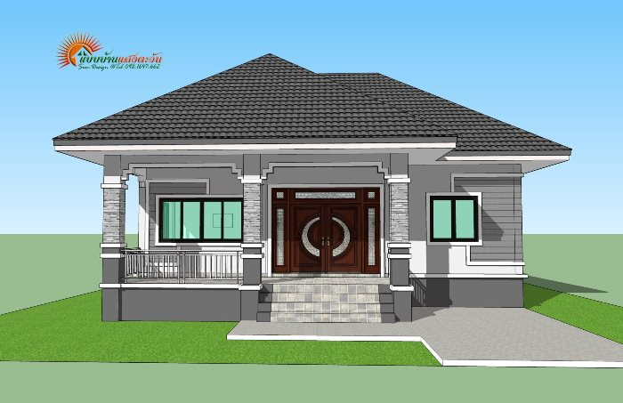 For Those On A Budget Elegant 3 Bedroom Single Storey House