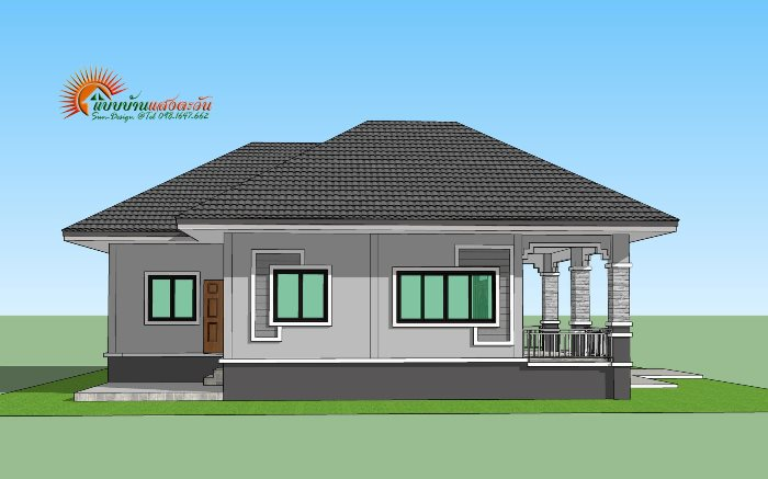 For Those On A Budget Elegant 3 Bedroom Single Storey House Ulric Home Single story house plans (44). elegant 3 bedroom single storey house