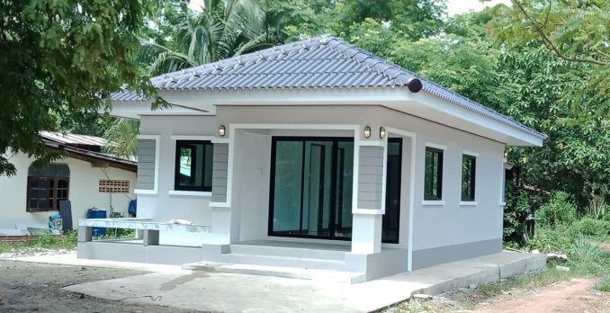 Comfort On A Budget: Modern Bungalow House Plan With Two Bedrooms ...