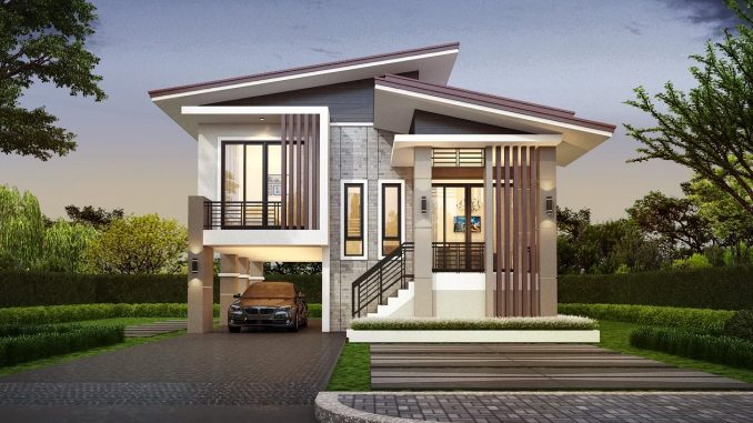 two story house
