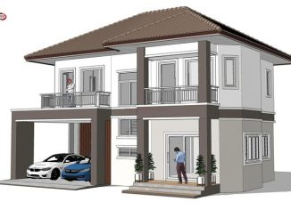 two story house design