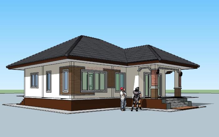 Perfect For Those On A Budget: 3-Bedroom Single Storey House ... on 4 bedroom single floor house plans, 5 bedroom single floor house plans, 3 bedroom single floor house plans, 1 bedroom single floor house plans,