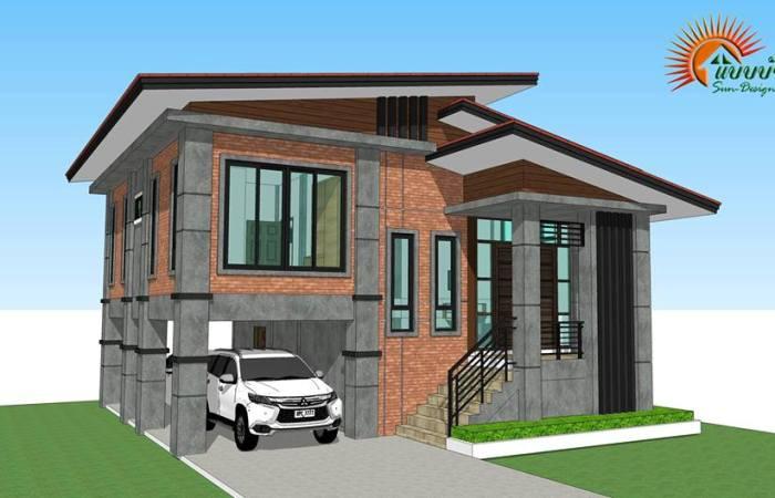 Modern Loft Style 3 Bedroom Multi Storey House Plan Ulric Home
