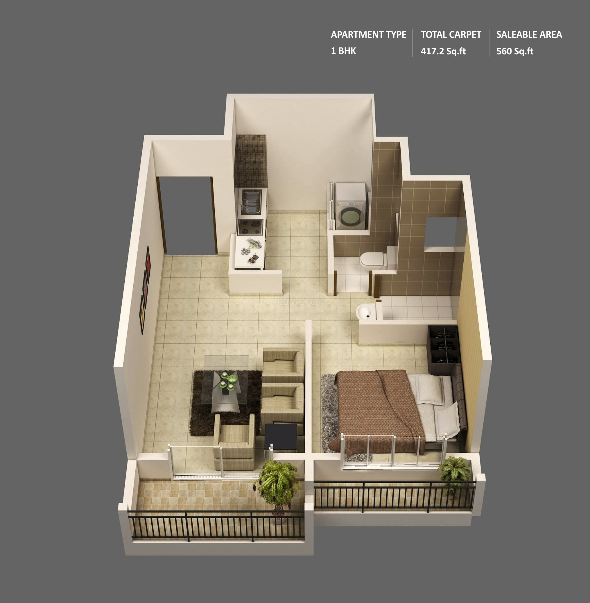 12 Mumbai One Bedroom Apartment Ulric Home
