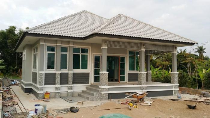 Three Bedroom Single Floor Design With And Impressive Exterior Design Ulric Home