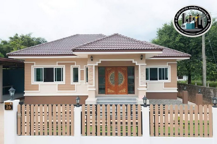 Four Bedroom Bungalow With Well Designed Facade Ulric Home