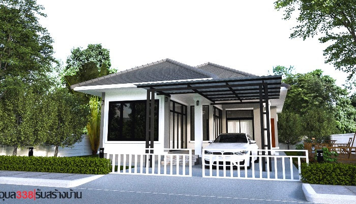 Two Contemporary Single Storey House Designs With Two Bedrooms Ulric Home