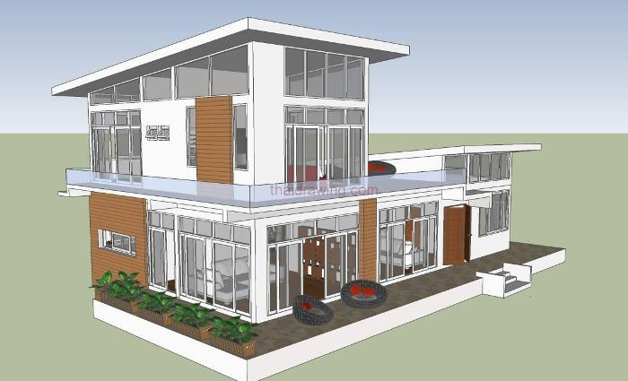 What An Amazing Modern Double Storey House Design Ulric Home