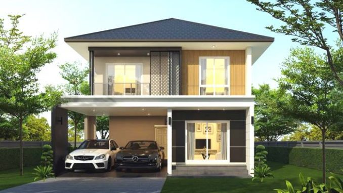 Simple And Affordable Three Bedroom Double Storey House