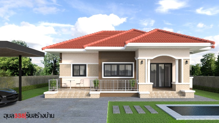 Wonderful One Storey House Designs With Three Bedrooms Ulric Home