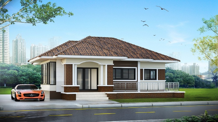 Amazing Three Bedroom One Storey House Designs Pick Your Bet Ulric Home