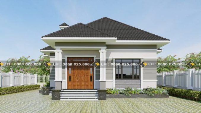 Modern three-bedroom single-storey house - Ulric Home