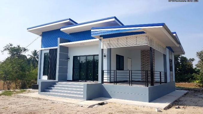 Blue House But Not Blue! Check This Cozy 2-bedroom Blue Bungalow - Ulric Home