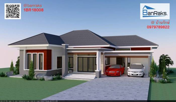 Five Fabulous One Storey House Designs Ulric Home