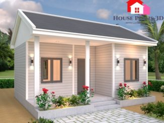 Small And Simple House Design With Two Bedrooms Ulric Home